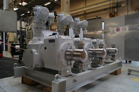 Milton Roy's Primeroyal R triplex metering pumps that were specially-configured to the meet the project requirements.