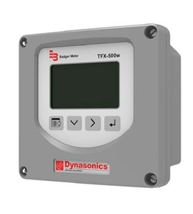 The new Dynasonics TFX-500w Ultrasonic Clamp-on Flow Meter.
