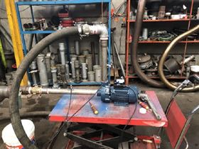 The report stated that the efficiency of the pump was around 75% and the hydraulic efficiency of the wet end was around 71%. (Image: NFT)