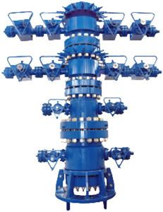 A conventional wellhead from KOP Surface Products.