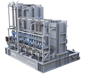 A multi-compartment chemical injection package from SPX Flow.