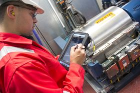 The condition monitoring system measures data including vibration, temperature, visual inspections, process parameters, lubrication management and basic oil analysis. (Image: AVT Reliability)