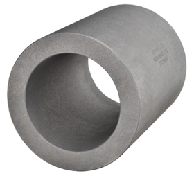 Graphalloy material is self-lubricating, non-galling, can handle low lubricity service and withstand temperatures from -400°F (-240°C) to +1000°F (+535°C).