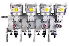 ARCS has individual valve isolation for online maintenance without process interruption.