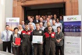 SPX Flow Power & Energy ClydeUnion Pumps' Glasgow workers.