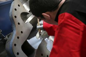 Applying the hydrophobic coating to improve pump efficiency.