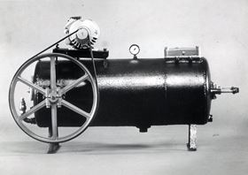 Grundfos' first pump, the Foss 1, was nicknamed 'the Pig' due to its appearance.