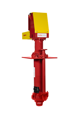 Flowrox's new CF-V centrifugal pump with a vertical cantilever design is for use in mining and minerals processing.