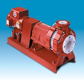 CHEM-GARD CGA thermoplastic pumps are inert to corrosive, abrasive and other aggressive fluids.