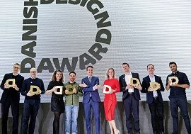 The winners in the Business category. Photo: Agnete Schlichtkrull