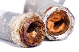 Corrosion can lead to many problems.