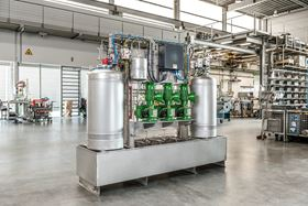 The LEWA Ecoflow diaphragm metering pumps are the core of the new systems. Thanks to their modular design, the systems can handle a wide range of fluids, including flammable, toxic, abrasive, viscous, environmentally harmful and sensitive fluids. (image: LEWA GmbH)