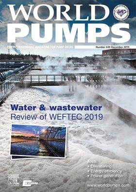 The latest issue of World Pumps is now available. Subscribe today.