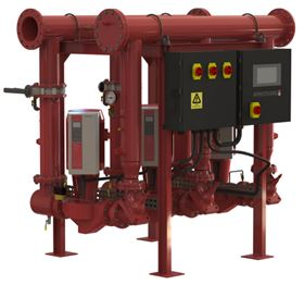 Armstrong's iFMS integrated, pre-designed packaged pump solution.