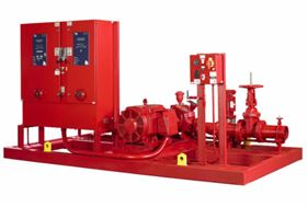 """The """"Plug and Play"""" design Fireset™ Horizontal Split Case (HSC) allows easy installation."""