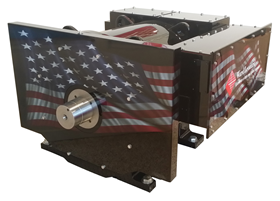 The high power density WL29BC200 AC induction motor features Ward Leonard's intra-slot cooling technology.