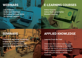 Hydro University will offer webinars, e-learning courses, seminars, and applied knowledge.