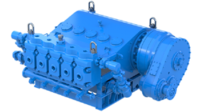 Weir Oil and Gas' new SPM Quintuplex Extended Max (QEM) 5000 E-Frac pump is a continuous-duty electric or gas turbine-capable 5,000-horsepower pump.