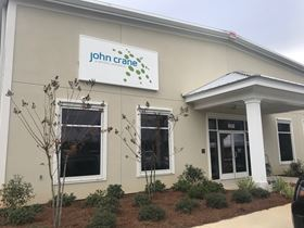 The facade of the new John Crane service centre in Mobile.