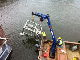 In-River Suction Filter approved by Environment Agency for the protection of small fish and elvers.