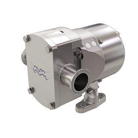 Alfa Laval's OptiLobe rotary lobe pumps are designed to meet the requirements of lower flow rates and higher production capacities.