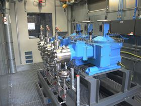 Initial testing has been carried out  using the Lewa Ecoflow LDG3 type with a M9 pump head. (Image: Lewa)