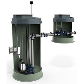 Made of hard-wearing plastic, PPS boasts greater durability when compared with traditional pumping stations.