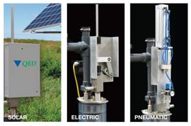 QED's TopDrive piston pump system for landfills and other cleanup applications.
