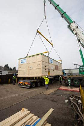 Atlas Copco delivers 50 tonne compressed air package offshore oilfield