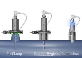 Baumer's hygienic sensors for the food processing industry.