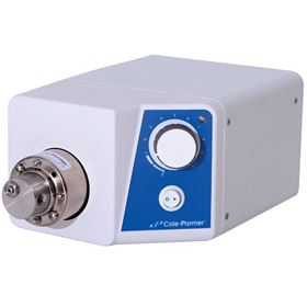 Cole-Parmer's new gear pump drive offers simple variable speed control for fluid handling applications.