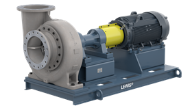 The new Lewis horizontal process pump is designed for chemical processing applications.