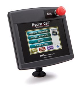 The 'Control Freak' Hydra-Cell multi-function metering controller.