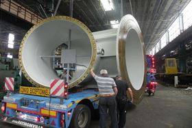 The pump's stator part kit is loaded for direct shipment from TMP's sub supplier to the customer.