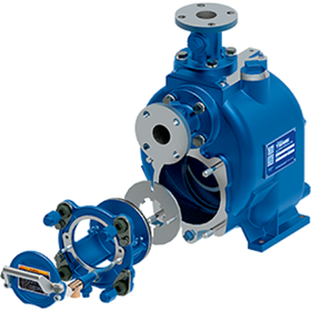 The 2 in, 3 in, and 4 in Super T Series pumps have a new impeller and wear plate designed to boost efficiency.