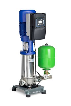 The SVP version of the new KSB Delta Solo pressure booster system is driven by synchronous reluctance motors from the KSB SuPremE type series.