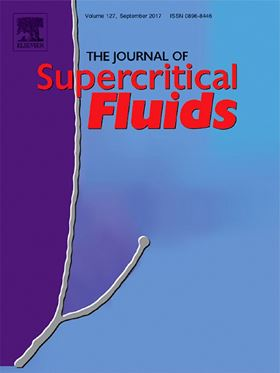 Q2 and Q3 articles for the Journal of Supercritical Fluids