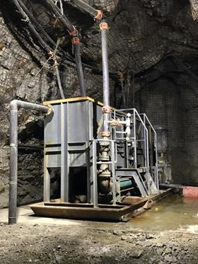 Netzsch's NEMO progressing cavity pump dewatering skids are designed for restricted spaces.