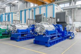HGC type pumps from KSB, similar to those that will be employed in the new cellulose plant in Três Lagoas, Brazil (©KSB AG).