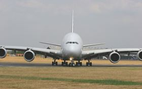 Engineers saved weight wherever possible to maximize payload capacity of the A380, the world's largest passenger aircraft.