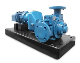 These pumps are suited for both portable and stationary applications.