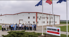 The new Armstrong facility in Romania.