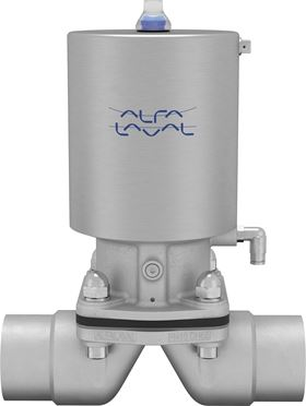 The new diaphragm valve range is ATEX-compliant, has slimmer stainless-steel actuators and lightweight cast valve bodies.
