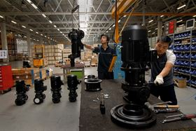 Grundfos production in China.
