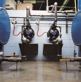 AODD pumps are popular for handling and transferring fluids at relatively low flows and pressures.