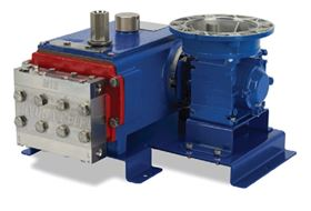 Hydra-Cell Metering Solutions model MT8 triplex metering pump