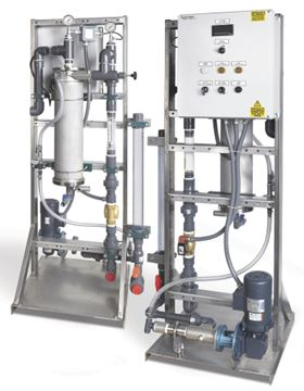 The dynaBLEND liquid polymer systems.