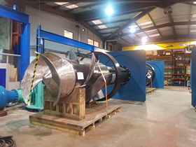 Bedford Pumps has fitted with Thordon's SXL bearings to its new axial flow pump.