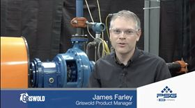 In the latest Centrifugal Pump Minute vlog, James Farley, Griswold product manager, discusses total dynamic head.