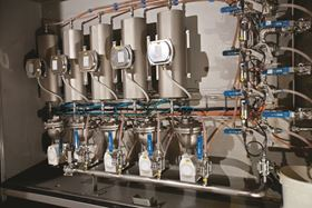 Technology Unlimited was tasked with fashioning a system for one of Europe's largest animal-feed producers that would inject an enzyme consisting mainly of palm oil onto the exterior of goat feed.